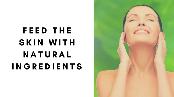 feed the skin with Spa Technologies UK all natural products