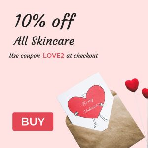 10% off all skincare