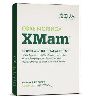 Core Moringa XMam Energy Capsules