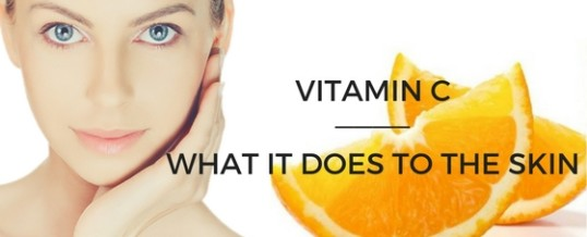 Vitamin C derivatives and the effects they have to the skin